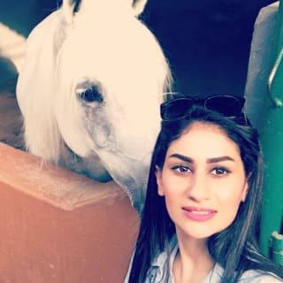Nadra Al Amri – Omani show jumper and former UKCC equestrian coach