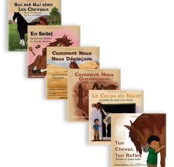 The Horse Book Series is now available in 3 languages, English, Arabic and French